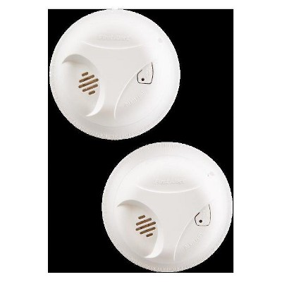 First Alert Battery Operated Smoke Alarm 2 Pack