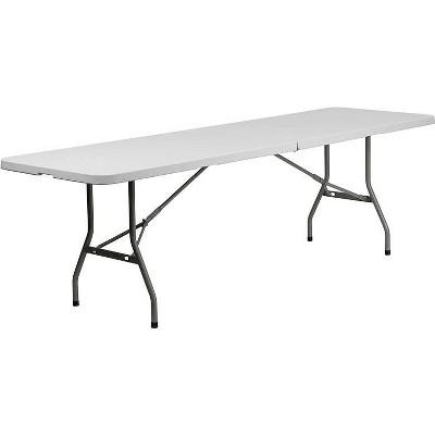 Riverstone Furniture Collection Fold Table Granite White