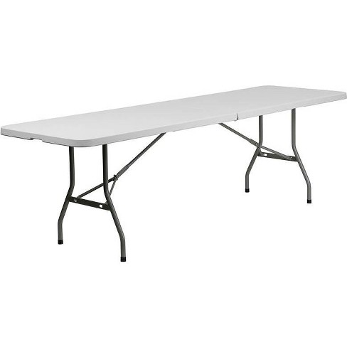 Riverstone Furniture Collection Fold Table Granite White - image 1 of 4