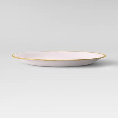 """10.5"""" Melamine Dinner Plate Pink - Opalhouse™"""