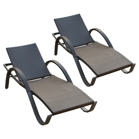 rst brands deco chaise lounges set of 2 - Chaise Deco