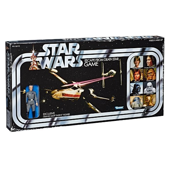 Star Wars Escape from Death Star Board Game image number null
