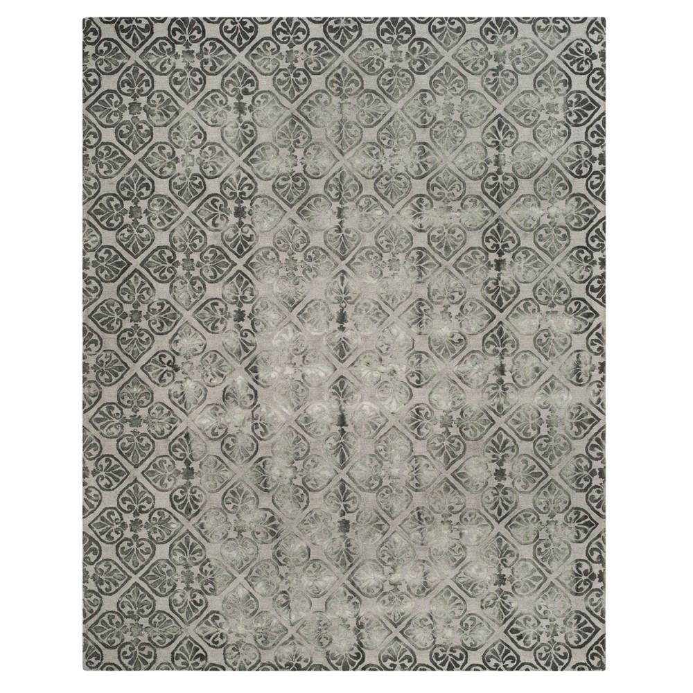 Gray Medallion Tufted Area Rug 8'X10' - Safavieh