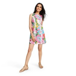 Women's Nosey Posie Sleeveless Round Neck Shift Mini Dress - Lilly Pulitzer for Target