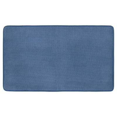 Memory Foam Bath Mat - Blue - 20 x34  - Mohawk Home