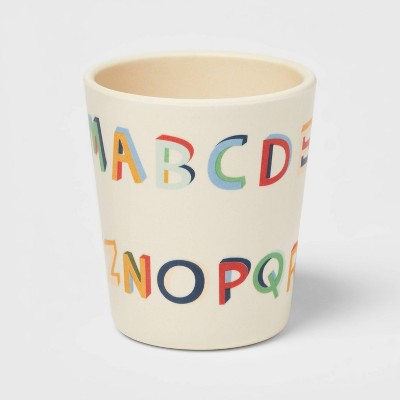 10oz Bamboo and Melamine ABC Kids Cup - Pillowfort™
