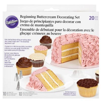 Wilton 20pc Beginning Buttercream Cake Decorating Set