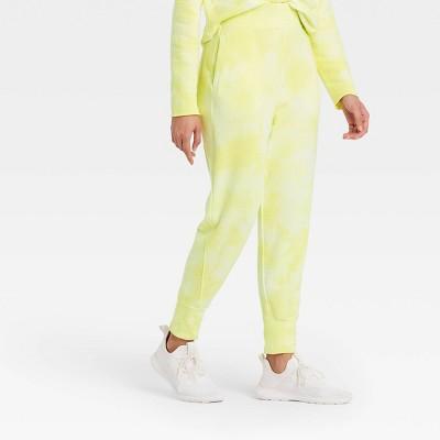 Women's Mid-Rise Drop Crotch Jogger Pants with Asymmetrical Zipper Pocket - JoyLab™