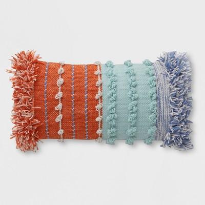 Lumbar Chunky Woven Outdoor Pillow - Opalhouse™