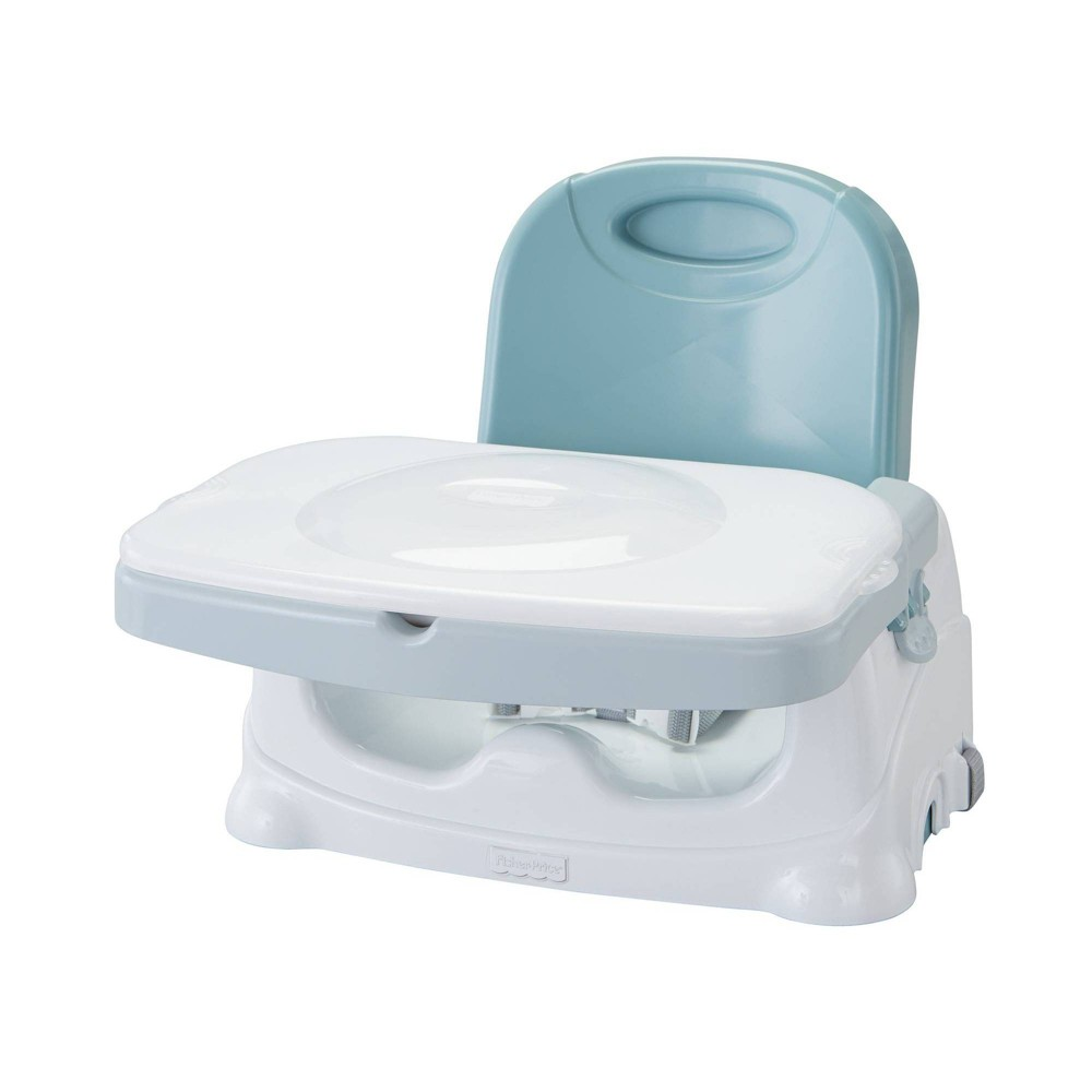 Fisher-Price® Healthy Care™ Deluxe Booster Seat in Grey