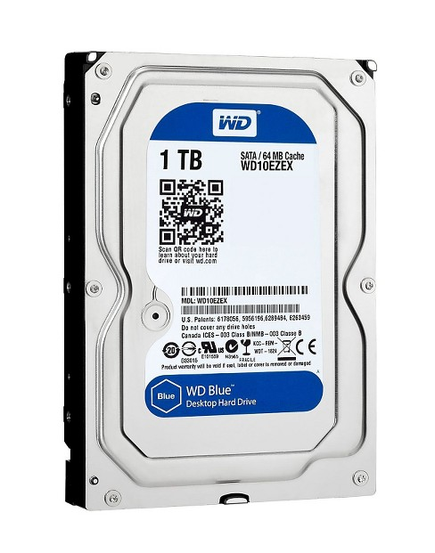 Western Digital 1TB SATA 6Gbs Internal Hard Drive - Blue (WD10EZEXSP) - image 1 of 2