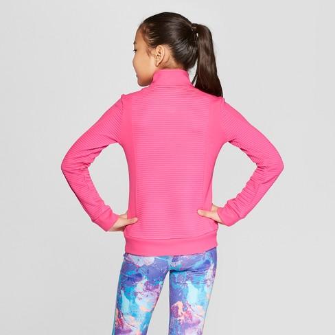 046eda1c81f4 Girls  Cardio Jacket - C9 Champion® Pink XS   Target
