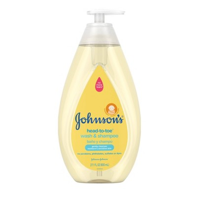 Johnson's Head-To-Toe Baby Wash and Shampoo - 27.1 fl oz