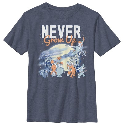 Boy's Peter Pan Lost Boys Never Grow T-Shirt
