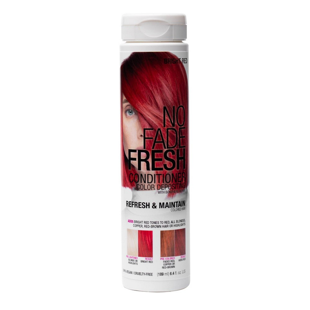 Image of No Fade Fresh Color Depositing Conditioner with BondHeal Repair - Red