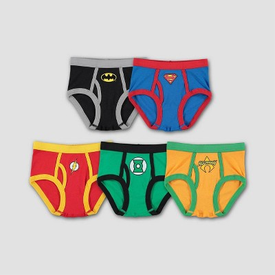 Boys' Justice League Logo 5pk Underwear