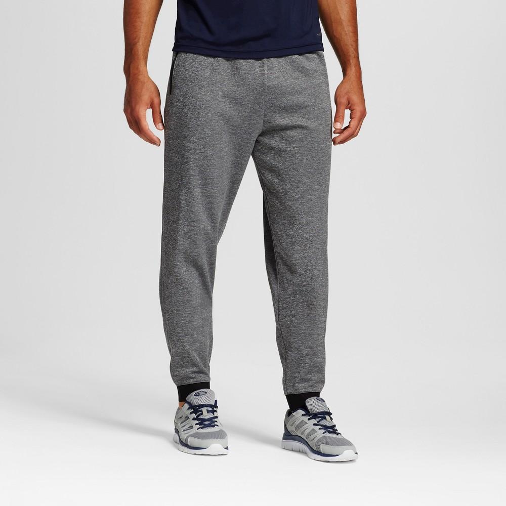Men's Big & Tall Sizes Tech Fleece Jogger Sweatpants - C9 Champion Dark Gray MT, Charcoal Heather