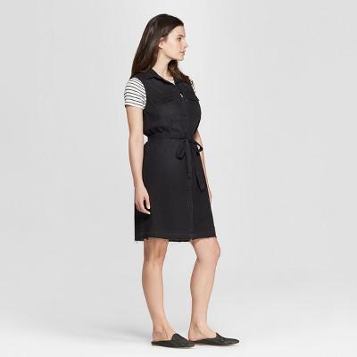 view Women's Sleeveless Western Denim Shirtdress - Universal Thread on target.com. Opens in a new tab.