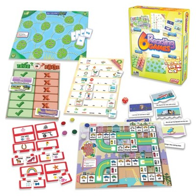 Junior Learning Reading Games 6ct