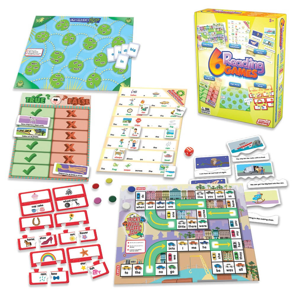 Image of Junior Learning Reading Games 6ct