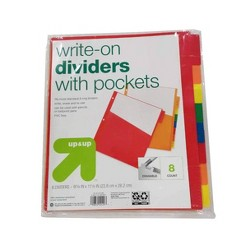 Write on Index Dividers - Up&Up™