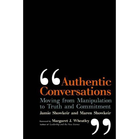 Authentic Conversations - by  James Showkeir (Paperback) - image 1 of 1