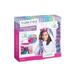 Make It Real DIY Unicorn Hoodie Kit, Adult Unisex