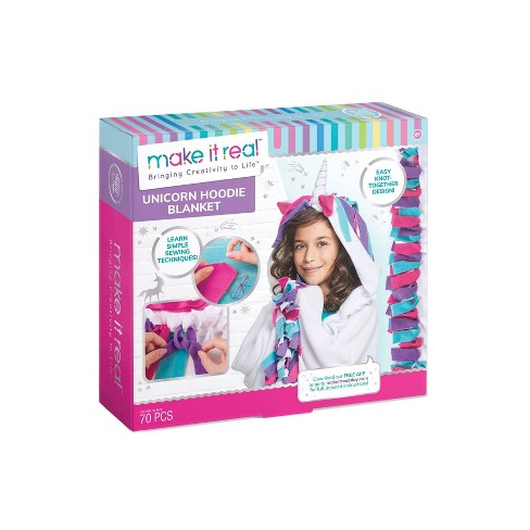 Make It Real DIY Unicorn Hoodie Kit - image 1 of 4