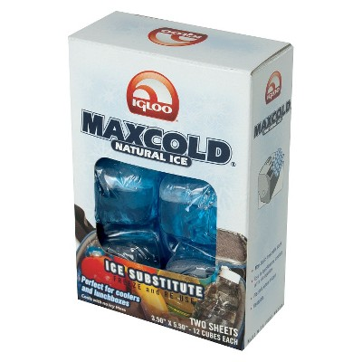 Igloo MaxCold Natural Ice Cooler - 2 Pack Lunch