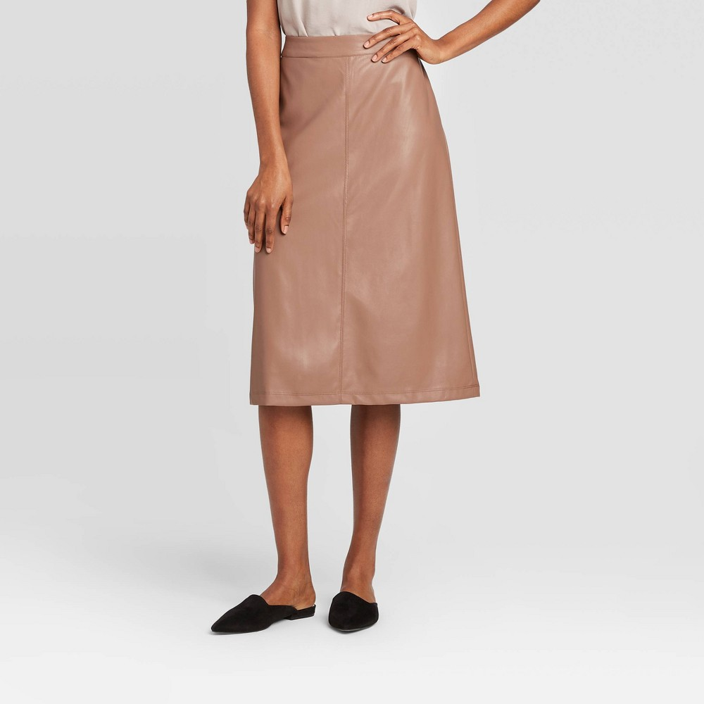 Women's A-Line Midi Skirt - Prologue Brown 6 was $29.99 now $20.99 (30.0% off)