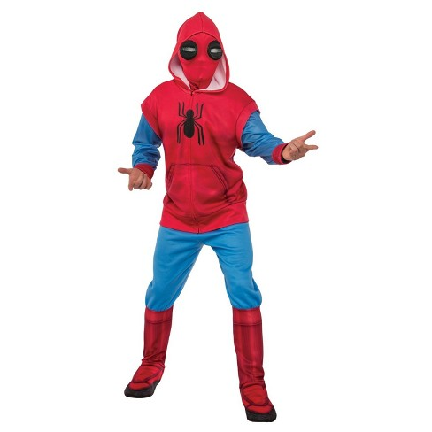 Men S Spider Man Homecoming Hoodie And Sweatpants Set Adult Costume