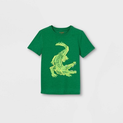 Boys' Short Sleeve Alligator Graphic T-Shirt - Cat & Jack™ Green