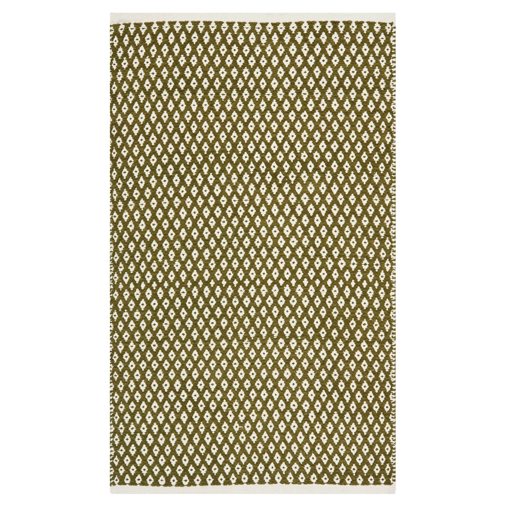 Ramona Accent Rug - Olive (Green) (3'x5') - Safavieh