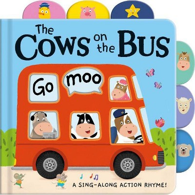 Cows on the Bus - (Board Book)
