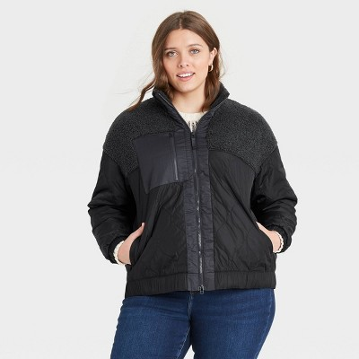 Women's Sherpa Jacket - Universal Thread™