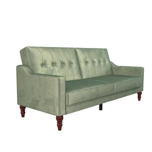 Beatrice Coil Futon Convertible Sofa