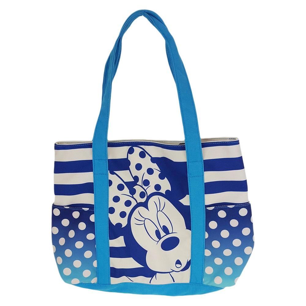 Girls' Disney Minnie Mouse Tote Bag - Blue