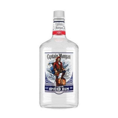 Captain Morgan Silver Spiced Rum - 1.75L Bottle
