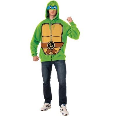 Teenage Mutant Ninja Turtles Leonardo Hoodie Adult Costume