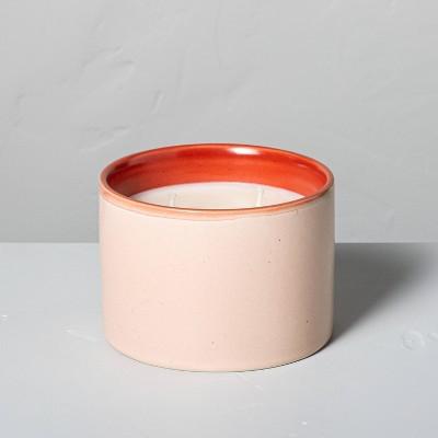 Citrus Grove Two-Tone Ceramic Seasonal Candle - Hearth & Hand™ with Magnolia