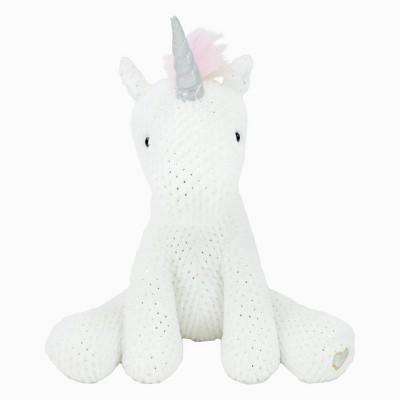 Animal Adventure Glitter Unicorn - White