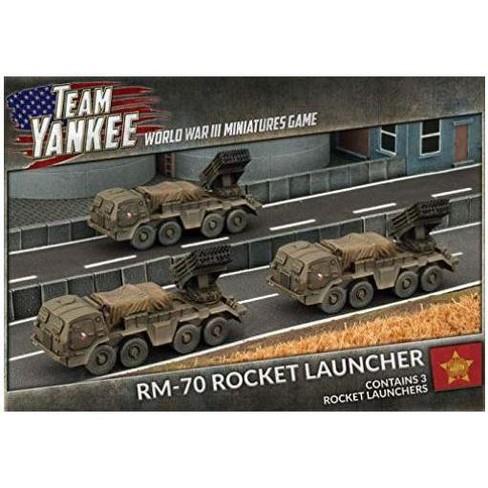 RM-70 Rocket Launcher Battery Miniatures Box Set