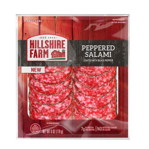Hillshire Farms Peppered Salami - 7oz - image 1 of 2