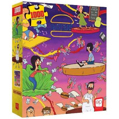 USAopoly Bob/'s Burgers Store Front Puzzle 550 Pieces