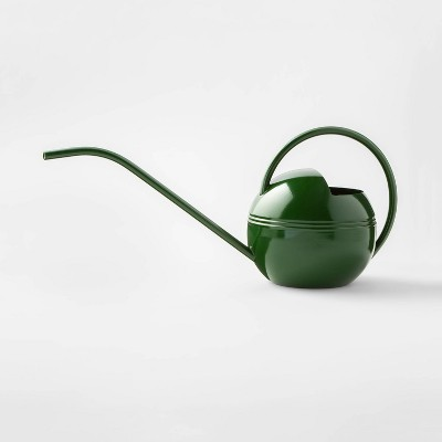 """7.2"""" x 6"""" Stainless Steel Watering Can Green - ? - Smith & Hawken™"""