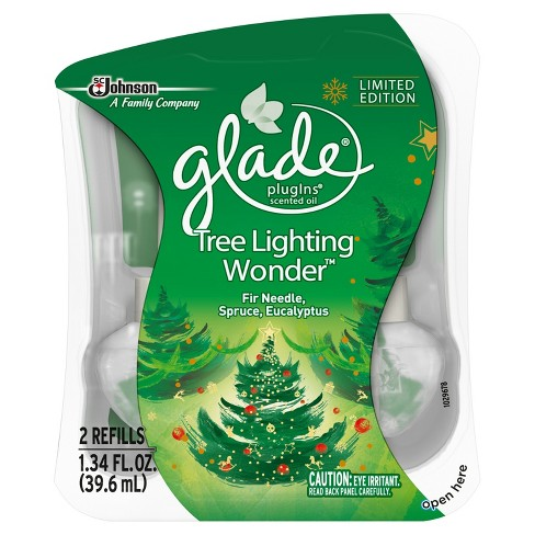 Glade Tree Lighting Wonder Air Freshener Refill - 2ct - image 1 of 3