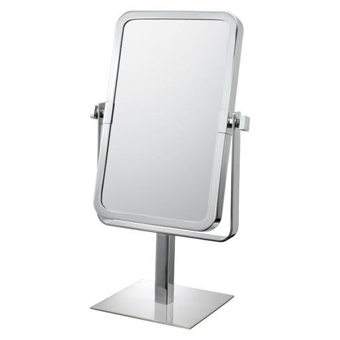 Rectangular 3x1x Vanity Mirror Chrome Mirror Image Target