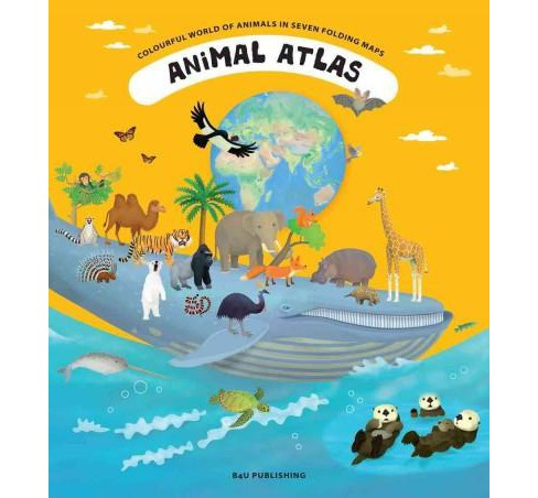 Animal Atlas : A Voyage of Discovery for Young Zoologists (Hardcover) (Tomas Tuma) - image 1 of 1