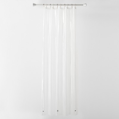 6 Gauge Peva Shower Liner Stall Clear 54 x78  - Made By Design™
