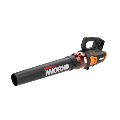 Worx WG584.9 Cordless Blower, 40V Li-ion, 430 CFM, Brushless Motor (Tool Only)